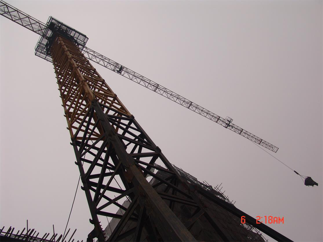 建筑塔吊实训